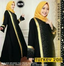 Baju Gamis Wanita Muslimah Modern Terbaru / Maxi Dress