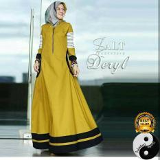 Baju Gamis Busana Fashion Muslimah Wanita Deryl Dress
