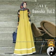 Jual Baju Gamis Busana Fashion Muslimah Wanita Danisha Dress Murah