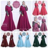 Situs Review Baju Gamis Diandra Dress Ori Shofiya Longdress