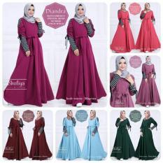 Harga Baju Gamis Diandra Dress Ori Shofiya Longdress Seken