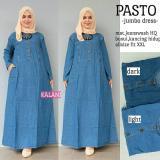 Beli Baju Gamis Long Dress Maxi Wanita Muslim Jeans Busui Jumbo Xxl Pasto Indonesia