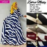 Jual Baju Gamis Long Dress Maxi Wanita Muslim Zebra Busui Fit Jumbo Branded Original