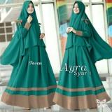 Jual Baju Gamis Muslim Syari Fashionable Gamis Ayra Syari Tosca Branded Original