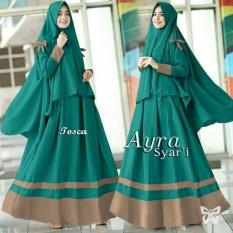 Toko Baju Gamis Muslim Syari Fashionable Gamis Ayra Syari Tosca Terlengkap Di Dki Jakarta