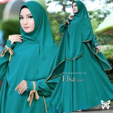 Baju Gamis Muslim Syari Fashionable  -  Gamis Elsa syari Tosca