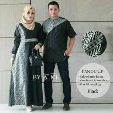 Baju Gamis Muslimah Pandu Couple ori alice