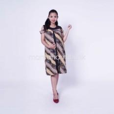 Baju Hamil Dress Menyusui Bolero Batik Etnik Sabrina Cantik - DRO 809