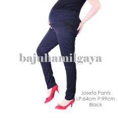 Baju Hamil Gaya - JOSEFA PANTS BLACK - Celana Hamil Baju Hamil Murah
