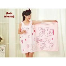 Baju Handuk Motif (Handuk Yg Bisa Dipakai Sperti Memakai Dress)