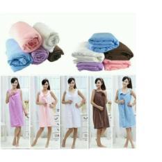 Baju Handuk Wearable Towel Handuk Mandi Multifungsi