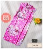 Beli Baju Imlek Dress Cheongsam Anak Murah Warna Pink Lengkap