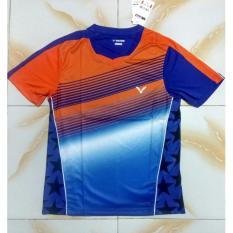 Ongkos Kirim Baju Jersey Kaos Badminton Victor 6022 Biru Blue Murah Obral Diskon Jual Pakaian Olahraga Bulutangkis Adha Sport Store Di Jawa Timur