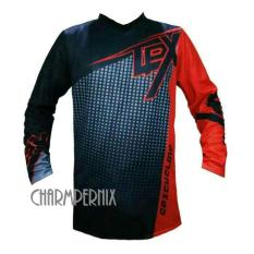 Baju Jersey Sepeda CPX Downhill Merah