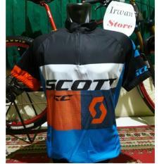 Kualitas Baju Jersey Sepeda Scott Lengan Pendek Jersey