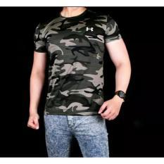 Baju Kaos ARMY Loreng Tentara Tbc Gym Fitness - 8Lrgif