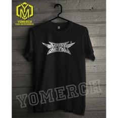 Baju / Kaos Baby Metal / Babymetal Simple Keren (Must Buy) Yomerch - C636A3