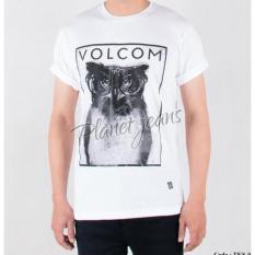 Baju Kaos Distro Cowok Brand Volcom / T-Shirt Surfing Pria Surf Tks05 - Kaosdistro