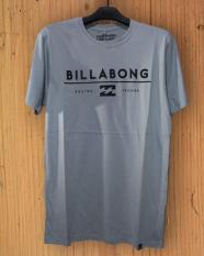 Baju Kaos Distro Surfing Billabong Grey