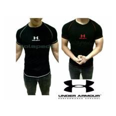 Harga Baju Kaos Fitness Gym Cowok Underarmour Under Armour Pria Termurah