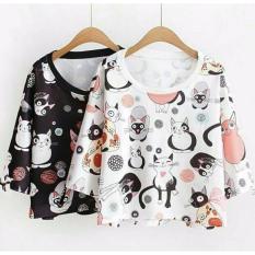 Beli Baju Kaos Meow Cewek Full Baju 55 Online