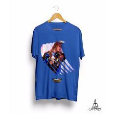 Baju Kaos Mobile Legends LANCELOT Antihero Cloth - BIRU