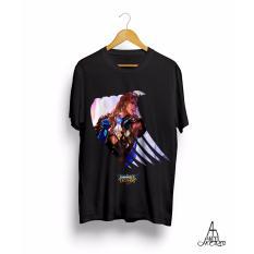 Baju Kaos Mobile Legends LANCELOT Antihero Cloth - HITAM