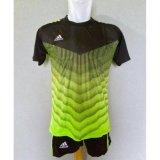 Baju Kaos Olahraga Jersey Bola Setelan Futsal Ad06 Green Murah