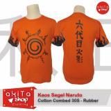 Harga Baju Kaos Orange Sablon Anime Jepang Segel Naruto Asli Multi