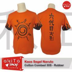 Review Tentang Baju Kaos Orange Sablon Anime Jepang Segel Naruto