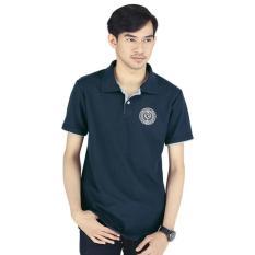 Baju Kaos Polo Shirt Kerah Pria Cowok Cowo Warna Biru Navy RPS 514 RZ