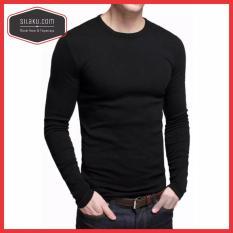 Baju Kaos Polos Lengan Panjang Longsleeve Cotton Combed Ketebalan Seperti Gildan Premium Lebih Bagus Dari Gildan Softstyle