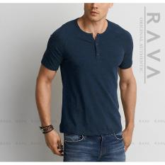 Jual Baju Kaos Pria Raglan Henley Oblong By Rava Premium Di Indonesia
