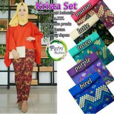 Baju Kebaya Batik Wanita Cotton / Balotely (Uk. M, L, XL ) - Mode Real Photo