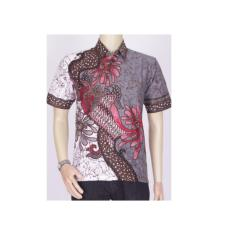 Baju Kemeja Batik Ekslusif Khas Pekalongan 2614 // Kemeja Denim Pria
