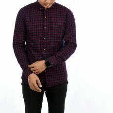 Spesifikasi Baju Kemeja Flanel Pria Lengan Panjang Baru