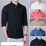 Harga Baju Kemeja Koko Shaquille Polos Hitam Premium Paling Murah
