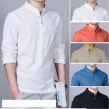 Spesifikasi Baju Kemeja Koko Shaquille Polos Putih Premium Baru