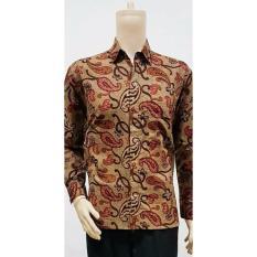 Promo Baju Kemeja Lengan Panjang Batik Jokowi Baju Batik Pria Batik Solo Batik Terlaris Termurah Di Indonesia