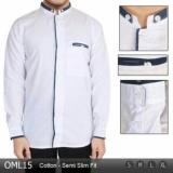 Review Pada Baju Kemeja Muslim Pria Lengan Panjang Oml15 Warna Putih