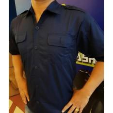 Baju Kemeja Seragam Trans Tv- Seragam Net Tv- Seragam Hitam- Seragam - 0Tpcso