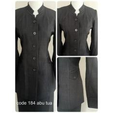 Baju Kerja Wanita Karir Setelan Blouse - Blazer Formal Wanita - Baju Kantor Dosen Guru