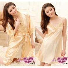 Baju Kimono Tidur Wanita Import Pernikahan Kado Cewek Murah Sleepwear