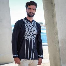Baju Koko AL-ACHWAN GAZNI BLACK