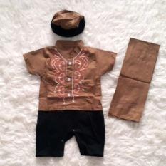 Baju Koko Bayi Romper Baby Muslim