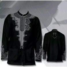 Baju Koko Black Panther | Baju Muslim | Baju Lebaran
