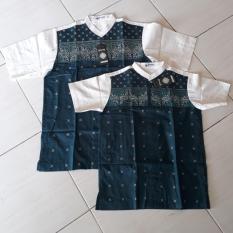 Baju Koko Couple Ayah Anak Modern - Toska