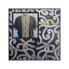 Jual Baju Koko Dewasa Katun Khusus Hitam Bordir Full Lengan Pendek 1971 Di Jawa Timur