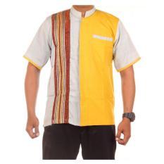 baju koko kombinasi lengan pendek JB Sopal Raden2