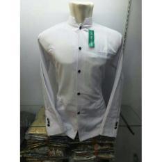 Baju Koko Pria Muslim Jasko Jas Koko Polos Putih Bersih Anak & Dewasa